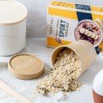 Intervallfasten - Schoko-Banane-Porridge als sättigende Mahlzeit