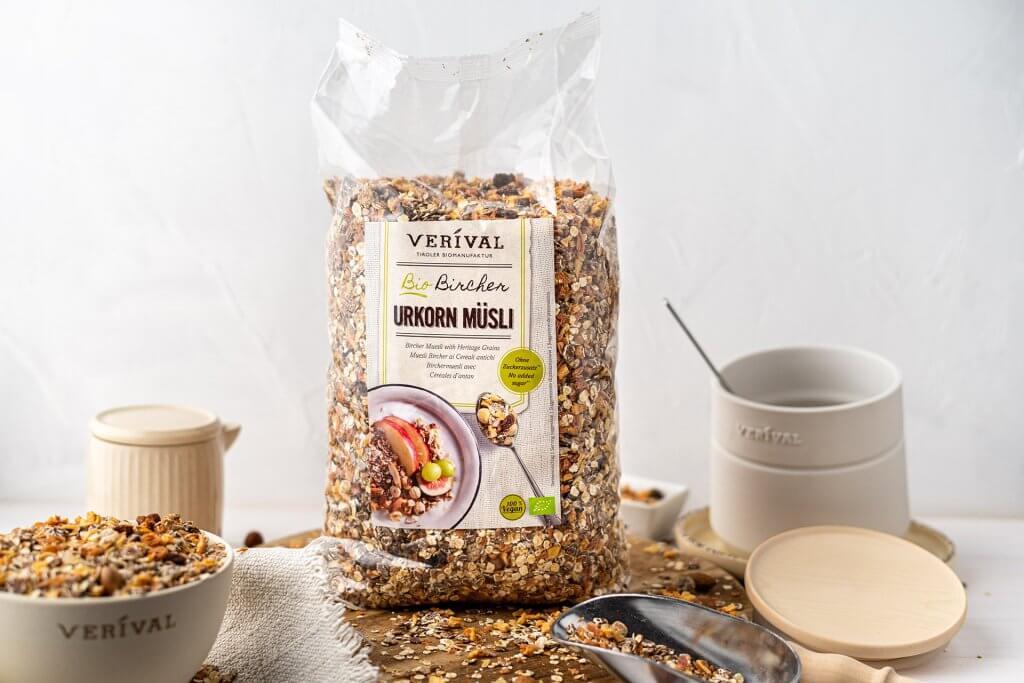 Veganes Müsli im Adventskalender von VERIVAL