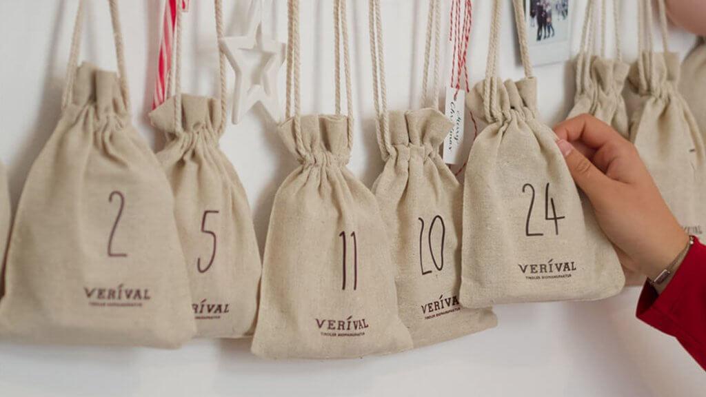 Der vegane Adventskalender von VERIVVAL ist gesund, vegan und nachhaltig