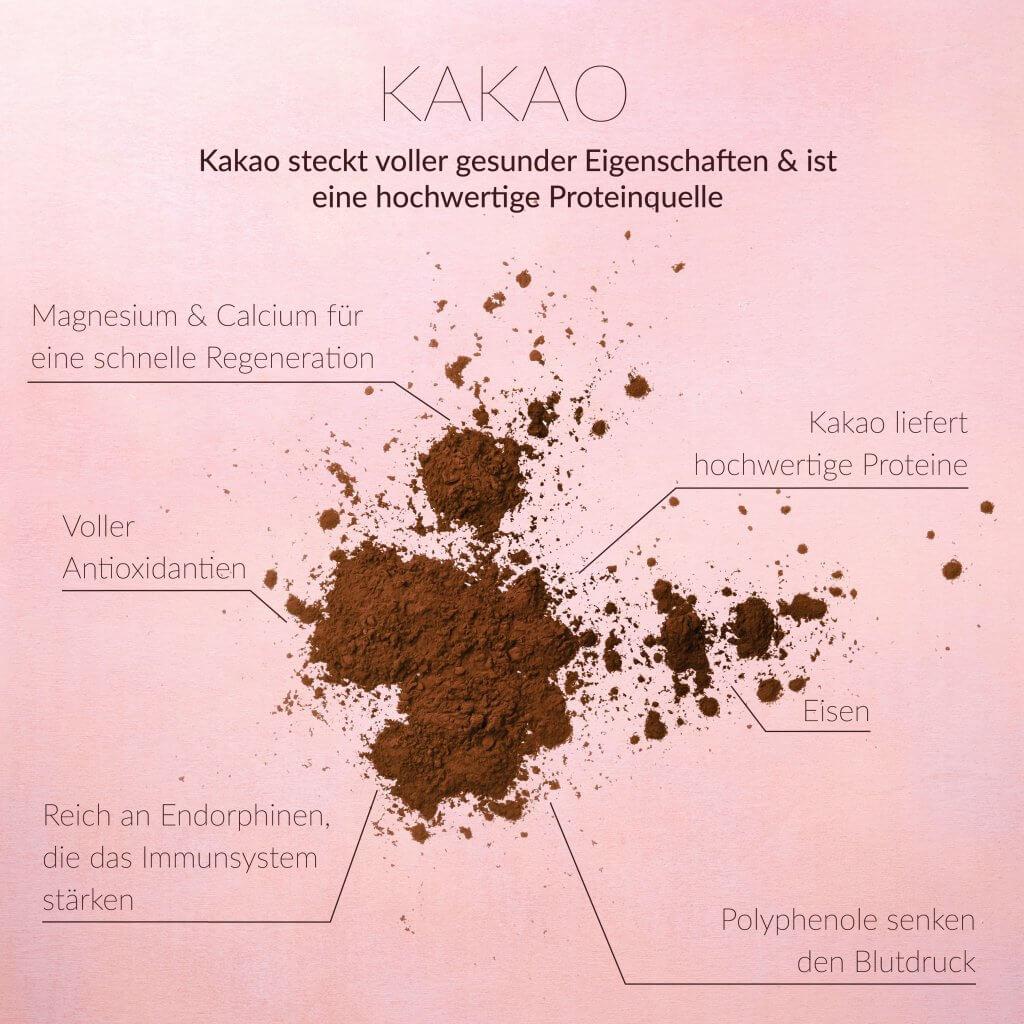 Kakao steckt voller gesunder Eigenschaften & ist eine hochwertige Proteinquelle