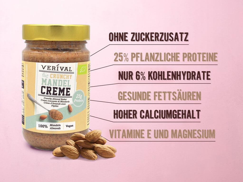 Mandelmus ist eine vielseitig einsetzbare Proteinquelle voller gesunder Nährstoffe