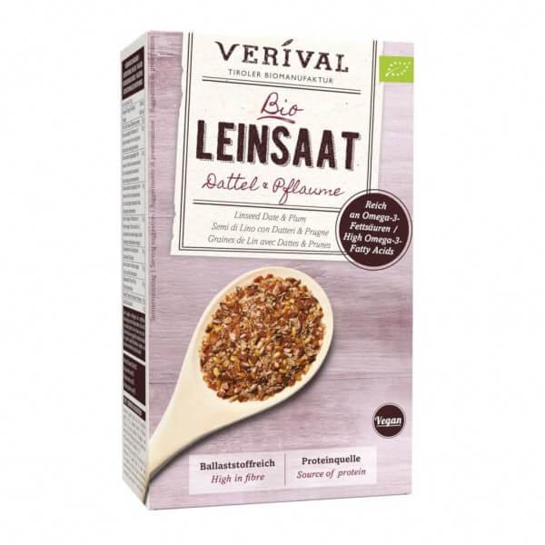 Leinsaat + Dattel & Pflaume