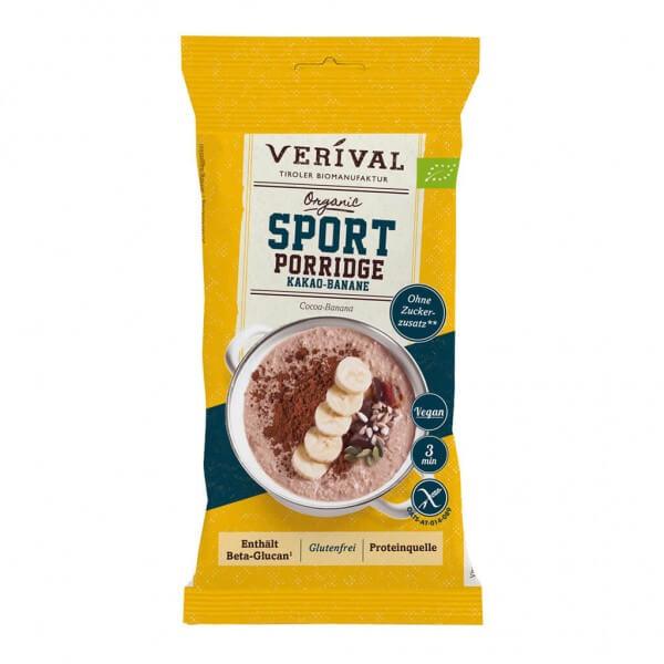 Sport Porridge Kakao-Banane 45g