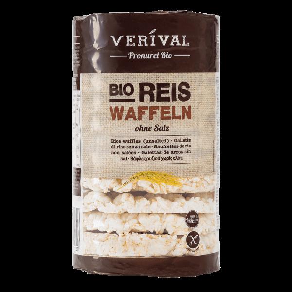 Verival Reiswaffeln ohne Salz