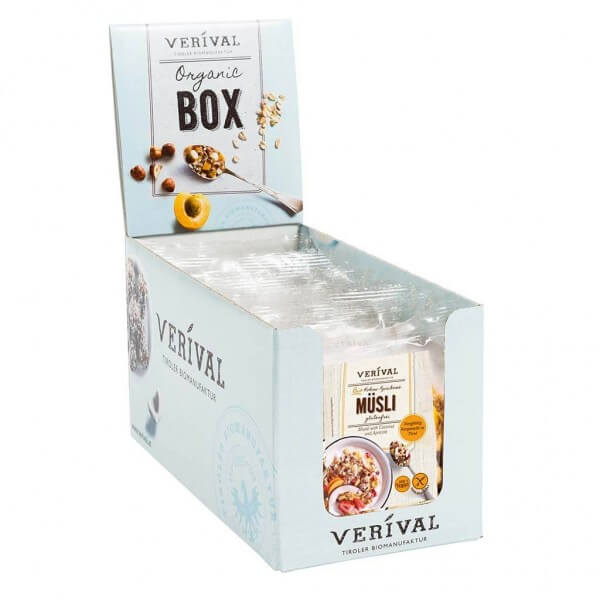 Verival Cereal-Box Kokos-Aprikosen Müsli 12x 40g