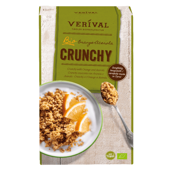 Verival Crunchy with Orange and Acerola 325g