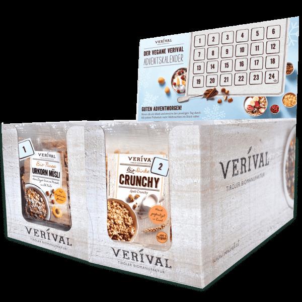 Verival Adventskalender vegan