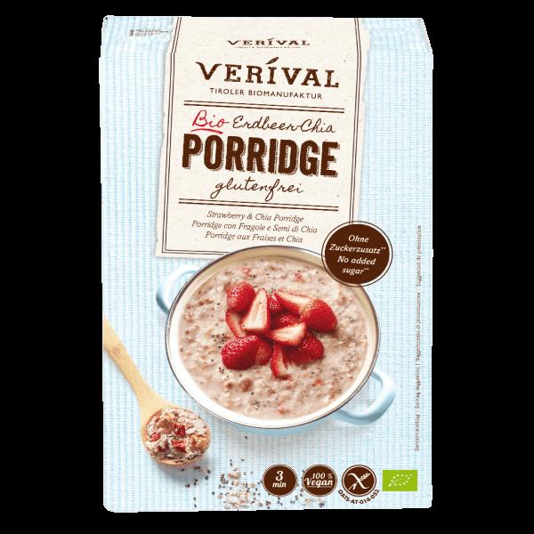 Verival Strawberry-Chia Porridge