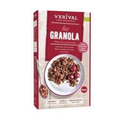 Granola con <br>Amarene e Cacao