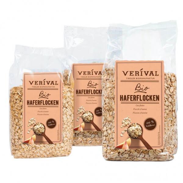 Verival Haferflocken im 3er-Pack (3x500g)