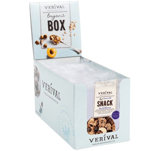 Verival Cereal-Box Granola Snack 12x 45g