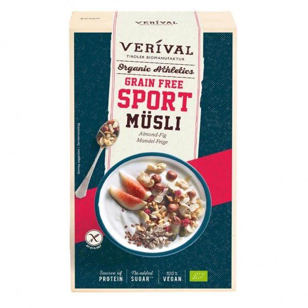 Verival Grain Free Sport Müsli Mandel-Feige
