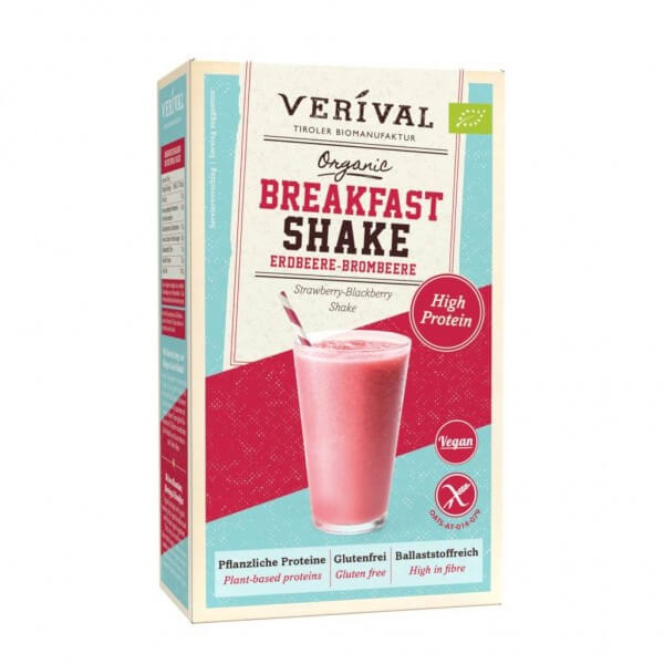 Breakfast Shake Erdbeere-Brombeere 280g