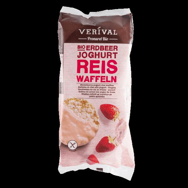 Verival Reiswaffeln Erdbeer-Joghurt