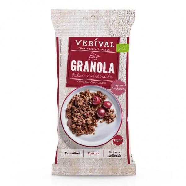 Verival Cocoa-Sour Cherry Granola 45g