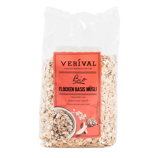 Verival Flocken Basis Müsli 500g